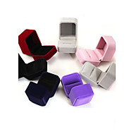 6*5*4CM Flannel /Earrings/Ring/ Jewelry Boxes 1pc