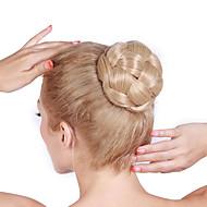 שיער לחמנייה מהירה פאת לחמניית לחמניית פקעת שיער פאת פקעת רולר שיער הסינתטי פקעת שיער לחמניית שיער מזויפת
