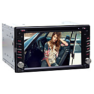 Quad-Core Universal Car DVD GPS Player Android4.4 Double 2 Din 6.2 inch Touch screen Built-in Bluetooth/Radio/WIFI