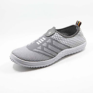 Men's Shoes Fabric Casual Fashion Sneakers Casual Running Blue / Gray