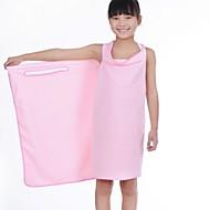 מגבת אמבטיה כחול / חום / ורוד / סגול / לבן,מוצק איכות גבוהה 100% סיב מיקרו מַגֶבֶת