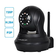 Dag Nacht/Bewegingsdetectie/Remote Access/IR-cut/Plug and play - Binnen Koepel - IP Camera