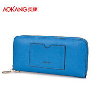Aokang Women 's Cowhide Baguette Clutch/Evening Bag/Wallet/Card & ID Holder/Coin Purse/Cosmetic Bag/Checkbook Wallet