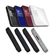 Western Digital Passport Ultra USB3.0 2T 2.5-inch HDD Portable External Hard Drive[Red]