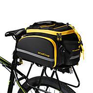 CoolChange® Cykeltaske 16LTaske til bagagebæret/Cykeltaske Vandtæt Reflekterende Stribe Stødsikker Påførelig Cykeltaske Terylene