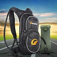 Kerékpáros táska 15LLKerékpár Hátizsák / Hidratáló táska és ivótasak Vízálló / Fényvisszaverő csík / Beleértve a víz hólyagKerékpáros