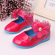 Baby Shoes Dress/Casual Leather Flats Pink/Red/Burgundy