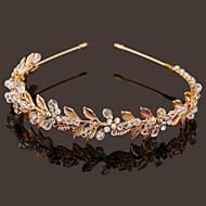 Donne Bambina Perle Cristalli Perle false Copricapo-Matrimonio Occasioni speciali Fasce 1 pezzo