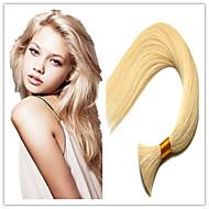 """3pcs / lot Vente en gros indiens extensions de cheveux en vrac, vierge de 100% cheveux humains cheveux en vrac 14 """"-32"""" 100g / pc # 613"""