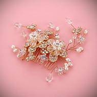 結婚式/パーティー 成人用 人造真珠 かぶと ヘッドバンド 1個