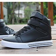סקייטבורד גברים נעליים דמוי עור שחור / כחול / אדום / לבן