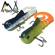 M&X Soft Bait 300mm/115g 2Pcs Pike Muskie Fishing Lure Swimbait Pesca Hard Fishing Bait Treble Hook Fishing Tackle