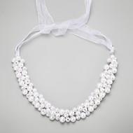 Dame / Blomsterpige Legering / Imiteret Perle Medaljon-Bryllup / Speciel Lejlighed Pandebånd 1 Stykke