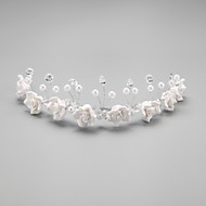 Women's/Flower Girl's Crystal/Alloy/Imitation Pearl Headpiece - Wedding/Special Occasion Headbands 1 Piece