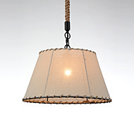 (S)1 Lights/Pendant Lamps/Vintage Style/Industry Style/Yellow/Cloth & Metals Drop Light