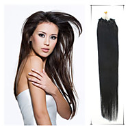 Grade 5A 1Pc/Lot 18Inch/45cm Multicolors Straight Micro Ring Hair Extensions Human Hair Weaves 100s/Pack 0.5G/s