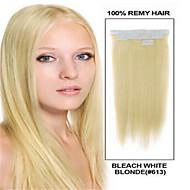 20pcs 2.5g / pc / pack 50g / lot cinta de pelo de cabello humano natural brasileño