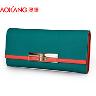 Aokang Women 's Cowhide Baguette Clutch/Evening Bag/Wallet/Card & ID Holder/Coin Purse/Cosmetic Bag/Checkbook Wallet