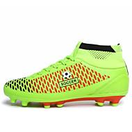 Indoor Court/Soccer Men's Shoes Black/Green/Orange