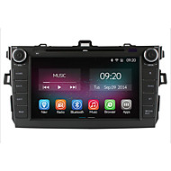 "8"" HD 1024*600  In-Dash Car DVD Player For Toyota Corolla 2006-2011 with Quad Core 2G RAM Android 4.4.2 GPS Navigation"