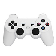 6 Axis Wireless Bluetooth Controller And Charger Cable For Sony PS3 Console Game (Assorted Colors)