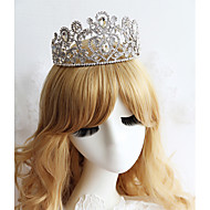 Women's Rhinestone Headpiece - Wedding/Special Occasion Tiaras 1 Piece