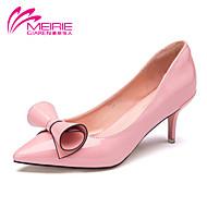 Magassarkú / Hegyes orrú / Csukott orrú - Stiletto - Női cipő - Magassarkú - Irodai / Alkalmi - Lakkbőr - Rózsaszín / Fehér