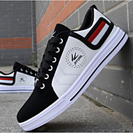 Heren Vulcanized Shoes Kunstleer Vulcanized Shoes Wit Rood Geel