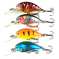 4pcs Hengjia Crank Baits 4.6g  55mm Fishing lures