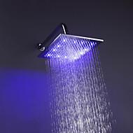 Chuveiro Tipo Chuva Contemporâneo LED/Efeito Chuva Latão Cromado