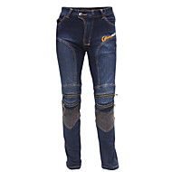 montando los pantalones vaqueros de la motocicleta de la tribu de moto de equitación (/ azul negro) tamaño M-XXXL