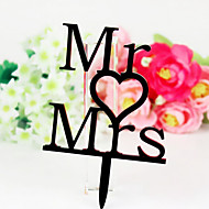 The Mr and Mrs Cake Topper