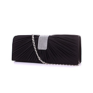 Women Silk Wedding Evening Bag Gold / Silver / Black / Fuchsia / Almond