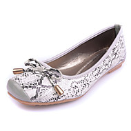 Women's Shoes Flat Heel Comfort / Square Toe / Closed Toe Flats Dress / Casual White