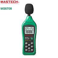 Mastech-ms6708 digitale geluidsniveaumeter
