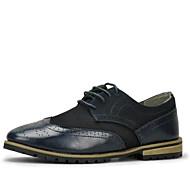 Men's Shoes Casual Oxfords Black / Blue
