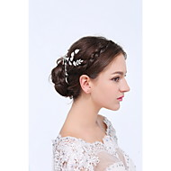 Women's Sterling Silver / Alloy Headpiece-Wedding / Special Occasion / Casual Hair Combs 1 Piece