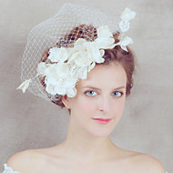 Women's Satin/Net Headpiece - Wedding/Special Occasion Bride Birdcage Veils 1 Piece