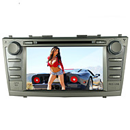 "8"" Toyota 2007-2011 Camry Motorized Touch Screen 2-Din Car DVD Player -GPS-BT-TV-Bluetooth-FM"