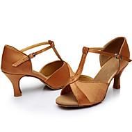 Aanpasbaar-Dames-Dance Schoenen(Zwart / Bruin / Zilver / Goud / Overige) - metSpeciale hak- enLatin