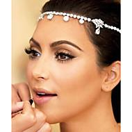 der Brauthaar europäischen und amerikanischen Stil Brautkleid Zubehör Reifenhaarband Sterne die Stirn