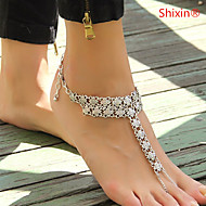 Alloy Anklet Daily/Casual 1pc Jewelry