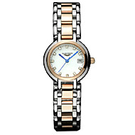 GUANQIN® Diamond Dial Calendar Quartz Fashion Female Slim 100m Waterproof Stainless Steel Sapphire Crystal Wrist Watches Cool Watches With Watch Box