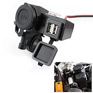 12v usb sigarettenaansteker waterdichte power-poort stopcontact kit voor motorfiets
