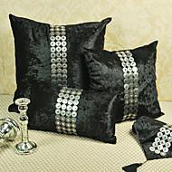 Set of 3 Aureate Velvet Pillowcase Sofa Home Decor Cushion Cover
