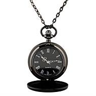 남성용 회중 시계 목걸이 시계 석영 합금 밴드