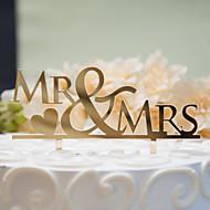 Gemischt ( Gold / Silber , Hartplastik ) - Nicht-personalisierte - Hochzeit / Jubliläum / Brautparty