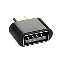 cwxuan ™ Micro USB dugó a USB 2.0 OTG női adapter Android telefon / tabletta