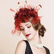 Women's Polyester Headpiece-Wedding / Special Occasion Headbands 1 Piece