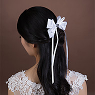 Women's / Flower Girl's Satin / Rhinestone / Tulle Headpiece-Wedding / Special Occasion Hair Combs 1 Piece